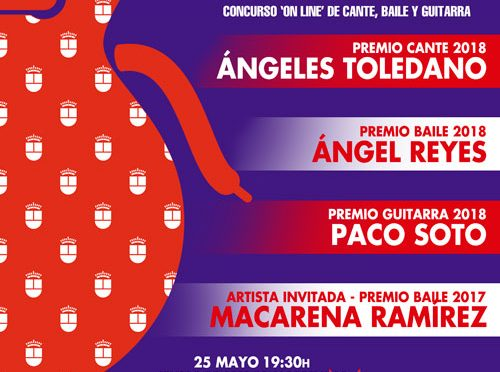 Awards Ceremony for the Alcobendas Flamenco New Talents 2018 on May 25