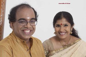 Dr. Sriram  Parasuram & Vidhushi Anooradha  Sriram