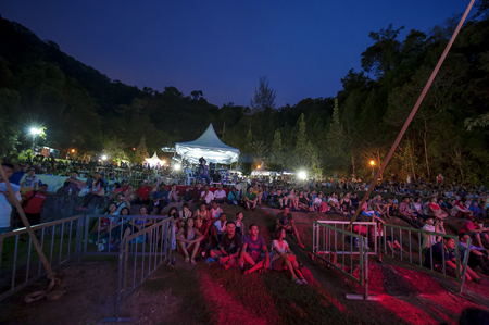 Festival audience - Photo by Sherwynd, courtesy of Penang World Music Festival