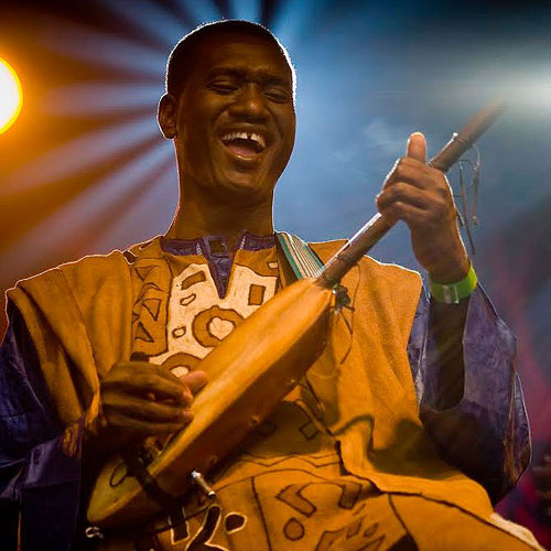 Bassekou Kouyate - Photo by Robin Chanda