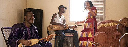 Bassekou Kouyaté and Ngoni Ba - Photo by  Jens Schwarz