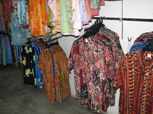Shirts for men at Penang Batik Factory - Photo by Angel Romero