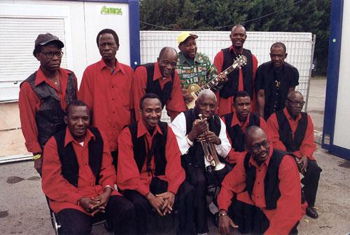Bembeya Jazz - Photo by René Goiffon