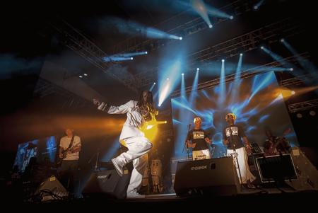 Carlos Dje Dje - Photo by Sherwynd, courtesy of Penang World Music Festival