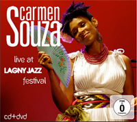 Carmen Souza - Live at Lagny Jazz Festival