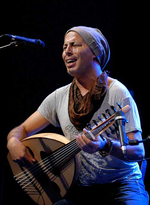 Dhafer Youssef - Photo by Wolfgang Gonaus