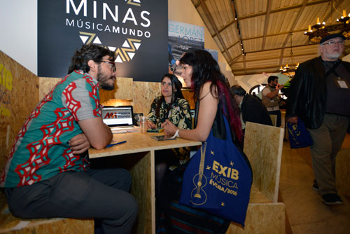 EXIB Música 2016 trade show - Photo courtesy of EXIB Música