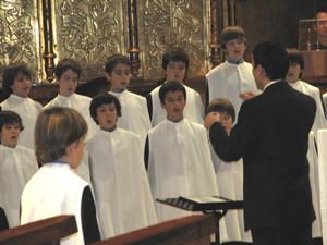 Escolania de Montserrat boys choir - Photo by Angel Romero