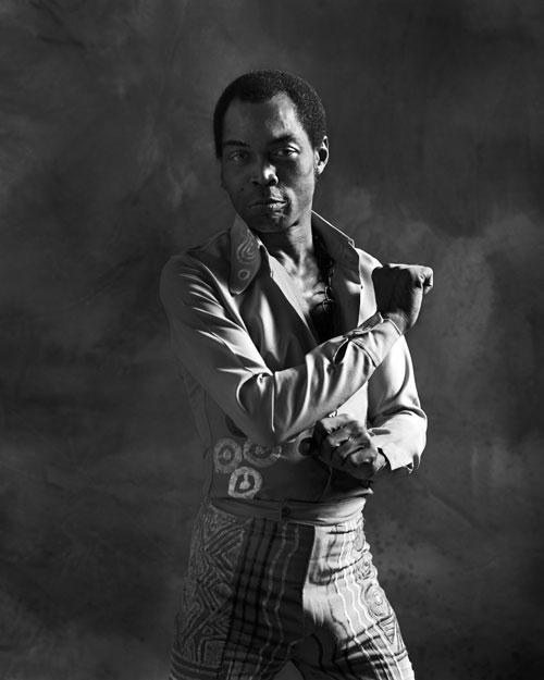 Fela Kuti - Photo by Bernard Matussiere