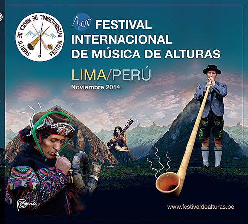 1er Festival Internacional de Alturas – Lima, Perú, noviembre 2014