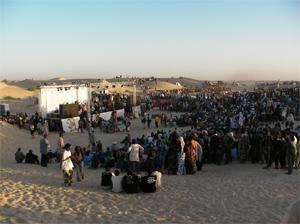 Festival au Désert (Festival in the Desert) in Mali