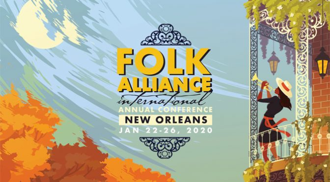 New Orleans to Host 2020 Folk Alliance International Conference