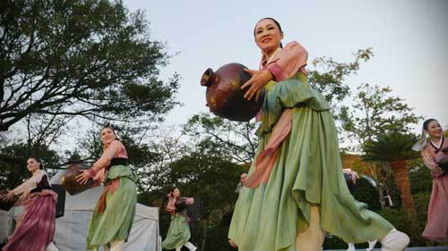 Folksong Troupe Soriwat (Jeju) at 2016 Jeju World Music Oreum Festival