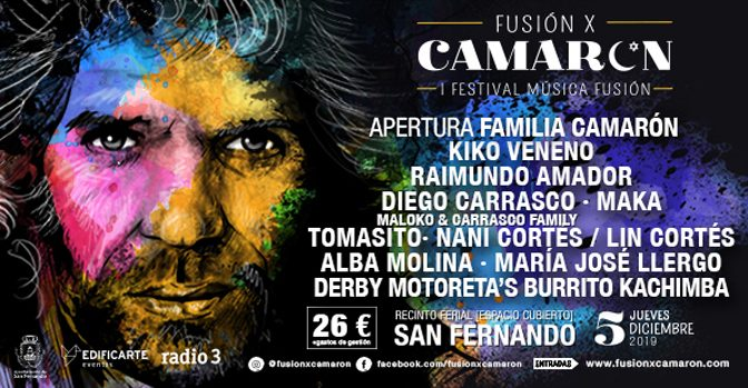 New Festival Fusión x Camarón to Celebrate Innovative Flamenco Artists