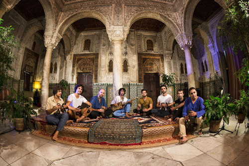Gabacho Maroconnection, Gnawa, tradition and rhythm - Photo by Luis Alvarado