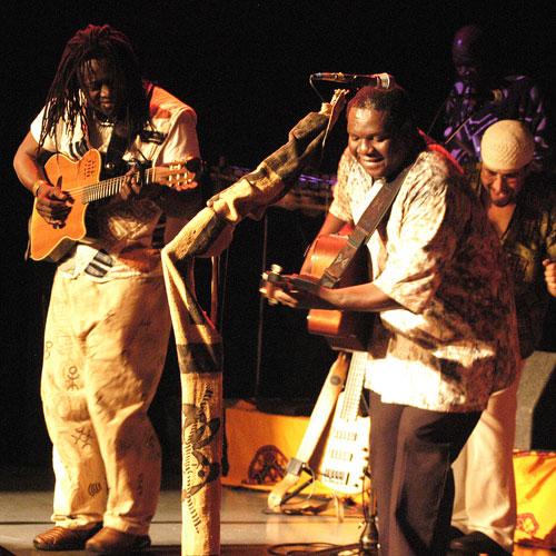 Habib Koité and Vusi Mahlasela