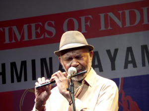 Jazz flute maestro Hubert Laws – Photo by Madanmohan Rao