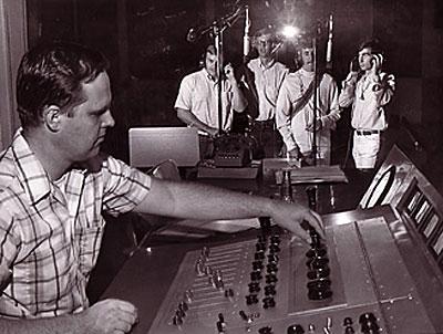 Recording engineer Jack Miller
