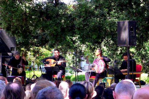 Jordi Savall, Orient-Occident Ensemble - Photo by Evangeline Kim