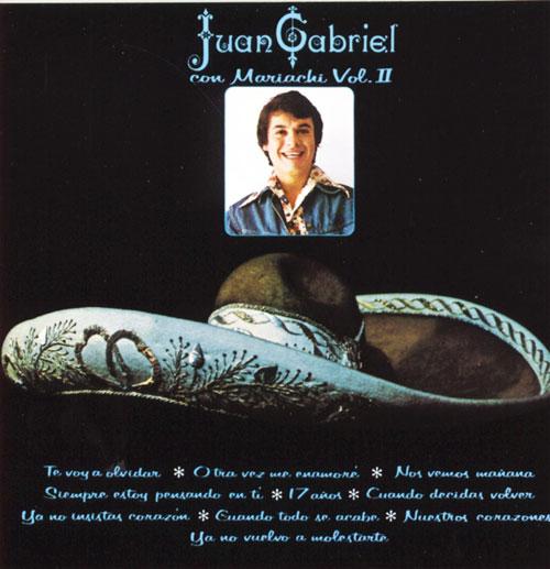 Juan Gabriel - Con Mariachi Vol. 2