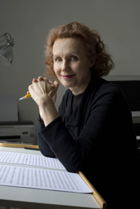 Finnish classical composer Kaija Saariaho, Rolex Mentor - Photo by Priska Ketterer