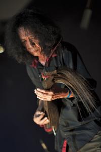 Kalayo's Sammy Asuncion playing the Filipino - Photo by Pein Lee, courtesy of Penang World Music Festival