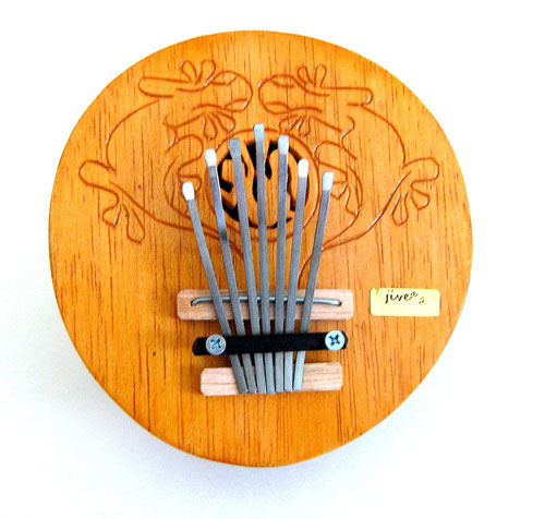 Kalimba Thumb Piano Percussion Musical Instrument Coconut Kalimba