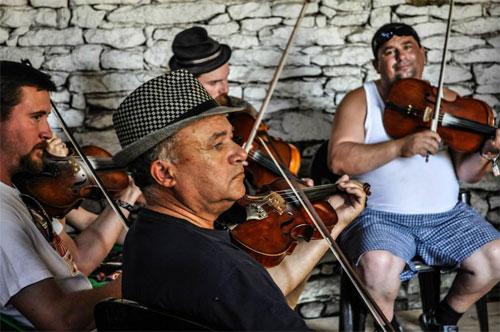 Kalotaszeg Folk Musicians