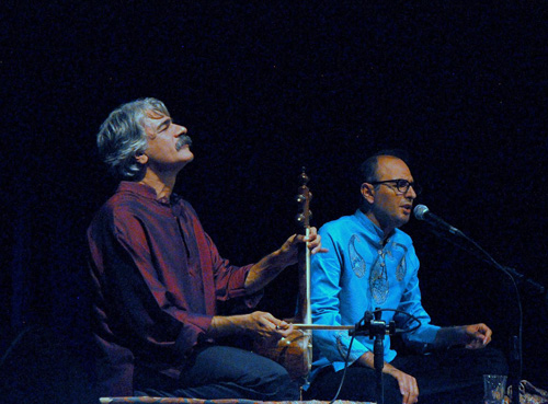 Kayhan Kalhor and Hossein Alishapour — Photo by Evangeline Kim