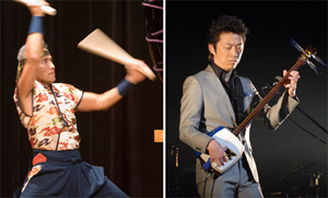 Kenny Endo (left) and Hiromitsu Agatsuma (right)