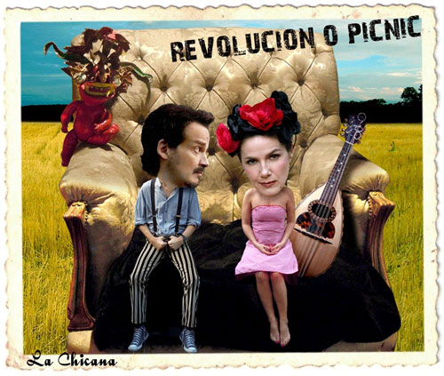 Revolución o picnic (2011), double album with La Chicana