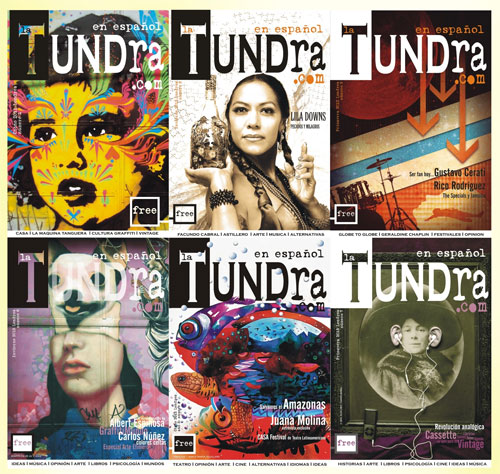 Covers of La Tundra magazine