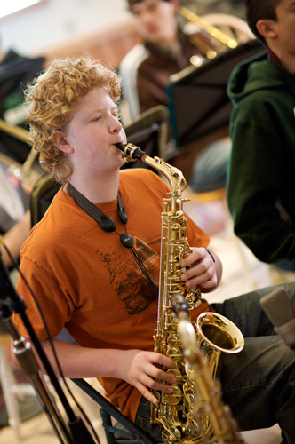 LaVenture Middle School Music Program - Photo courtesy of LaVenture Middle School