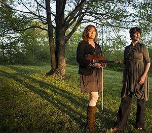 Wendy MacIsaac and Mary Jane Lamond