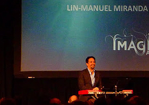 Composer and lyricist Lin-Manuel Miranda - Photo by Evangeline Kim