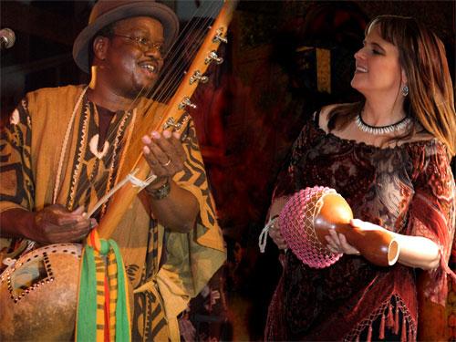 Mamadou Sidibe and Vanessa Sidibe