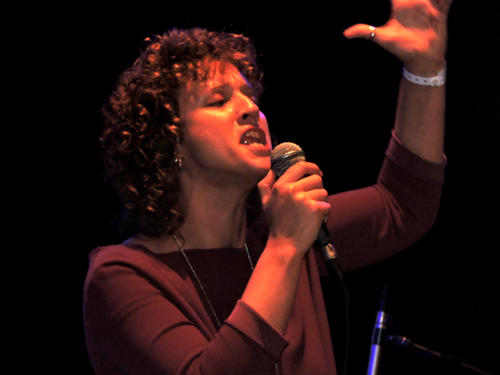 Portuguese vocalist Mara