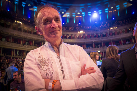 Martin Carthy at Folk Awards 2014, Albert Hall