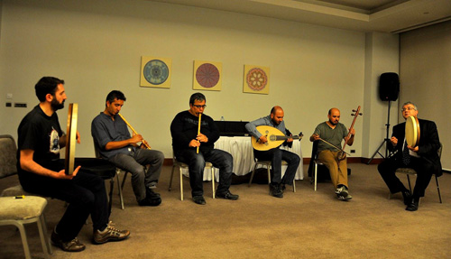 The Meshk Ensemble — Photo by Evangeline Kim
