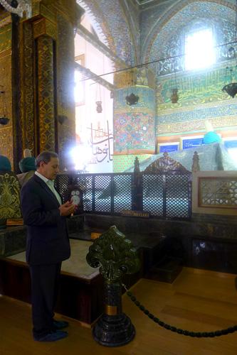 Mevlana Museum, Dr. Faouzi Skali — Photo by Evangeline Kim