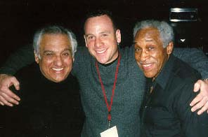Photo: Michael Orlove (center) with with two Chicago jazz legends: Joe Vito and Vonski Freeman
