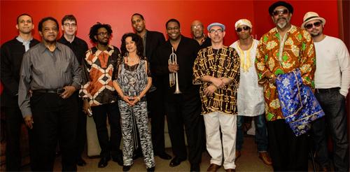 Michele Rosewoman with New Yor-Uba album lineup