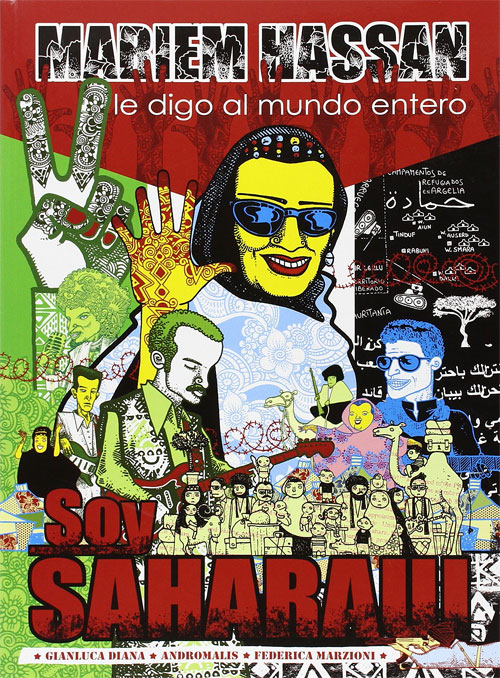 Cover of Mariem Hassan's Soy Saharaui graphic novel