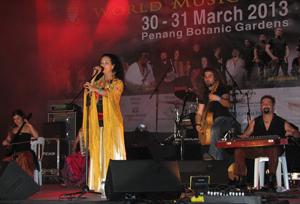 Mu at Penang World Music Festival 2013 -
