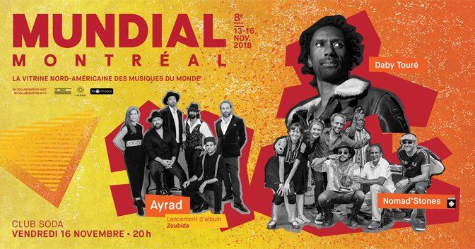 Mundial Montreal 2018 Announces Closing Night show