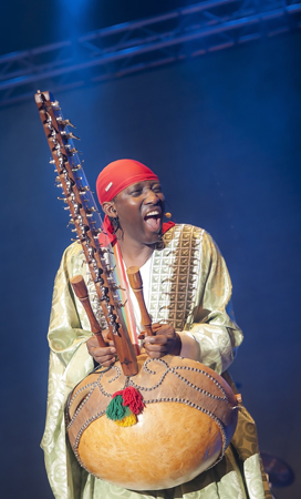 N'Faly-Kouyate - Photo by Sherwynd, courtesy of Penang World Music Festival