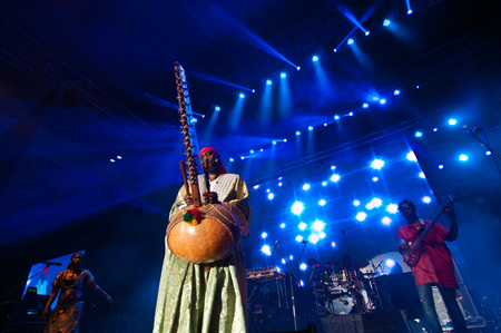 N'Faly-Kouyate - Photo by Leong Kean Hong, courtesy of Penang World Music Festival