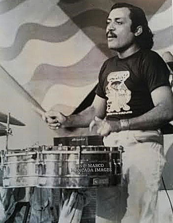 Pablito Rosario in Venezuela playing timbales