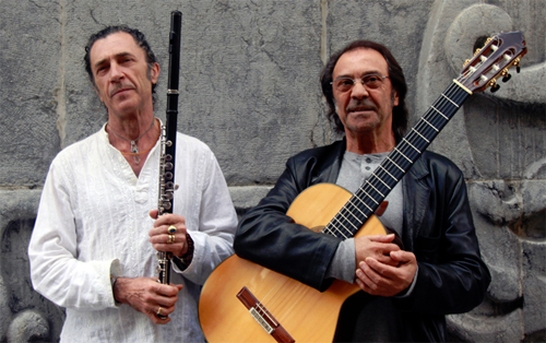 Pepe Habichuela and Jorge Pardo to celebrate the