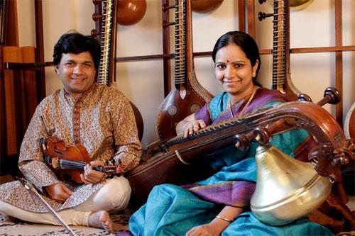 R. Kumaresh and Jayanthi Kumaresh